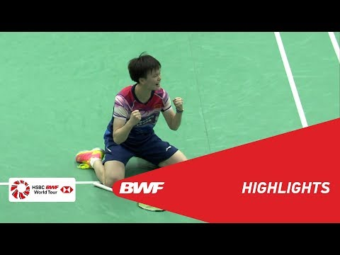YONEX US Open 2019 | Finals WS Highlights | BWF 2019