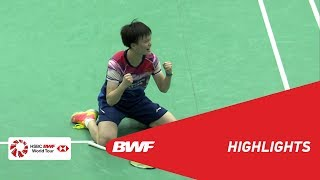 YONEX US Open 2019 | Finals WS Highlights | BWF 2019