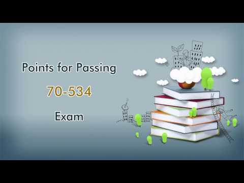 [Update]Valid Passtcert Microsoft MCP 70-534 Exam Training Material Available