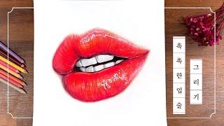 [안산C&C] 같이그려요, 촉촉한 입술_ #색연…