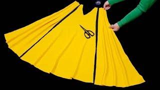 اسهل طريقه لخياطه فستان من اجمل الفساتين التي عرضت هذا العام