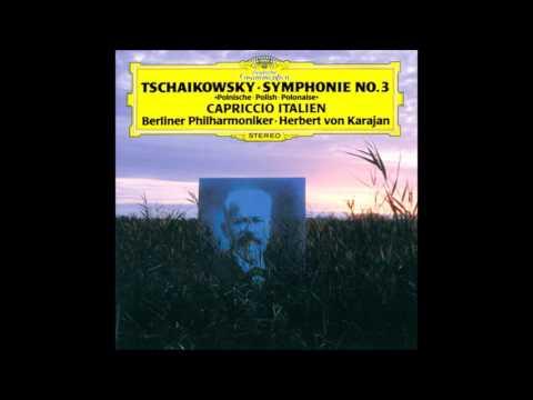"Tschaikowski - Symphonie Nr.3 D-Dur Op.29 ""Polnische"" Karajan Berliner Philharmoniker"