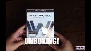 Unboxing! | 'WESTWORLD' Season 2: 'The Door' Limited Edition 4K Ultra HD Blu-ray/Digital Combo