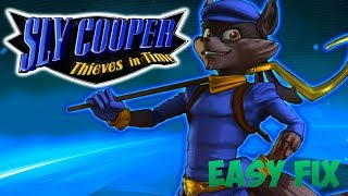 [Tutorial ITA] Graphics Fix Sly Cooper 4: Thieves in Times RPCS3