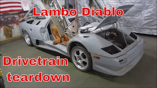 Free Lambo Diablo hand built, lets see what it needs to Run?