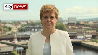 Nicola Sturgeon lays out her concerns over Boris Johnson