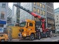 PALFINGER PK 110002 LADEKRAN MAN KRANWAGEN KNAACK HAMBURG truck crane