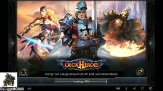 Deck Heroes - setting up account back up and switching to new devices