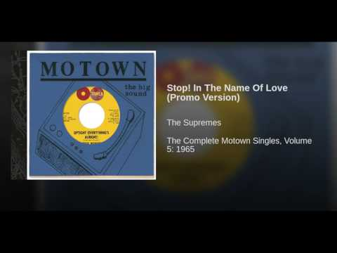 Stop! In The Name Of Love (Promo Version)