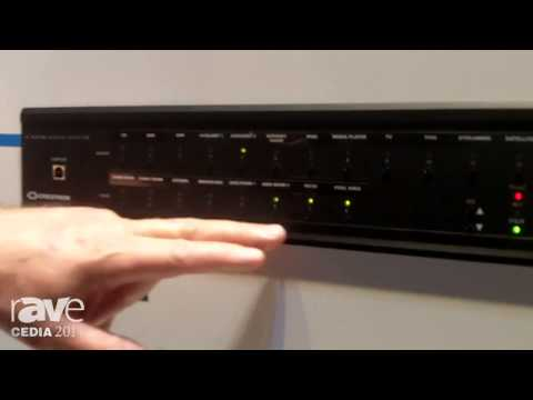 CEDIA 2014: Crestron Explains the CEN-NSP1 Network Streamer and C2N-AMP-6X100 Amplifier