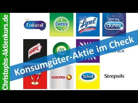 Reckitt Benckiser (RB): Spannende Konsumgüter-Aktie im Check