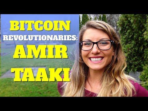 Bitcoin Revolutionaries: Amir Taaki