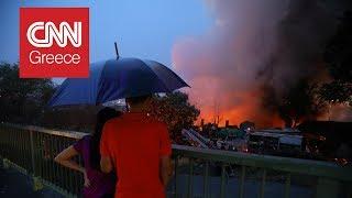 Τρομακτική καταιγίδα προκαλεί χάος στην Κωνσταντινούπολη