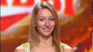 Anastasia Skukhtorova - Russian Got talent pole dance (  Минута славы танцы на шесте  28 09 2013 )