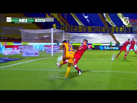 Tigres [1] - 0 Toluca - Andre-Pierre Gignac 35'
