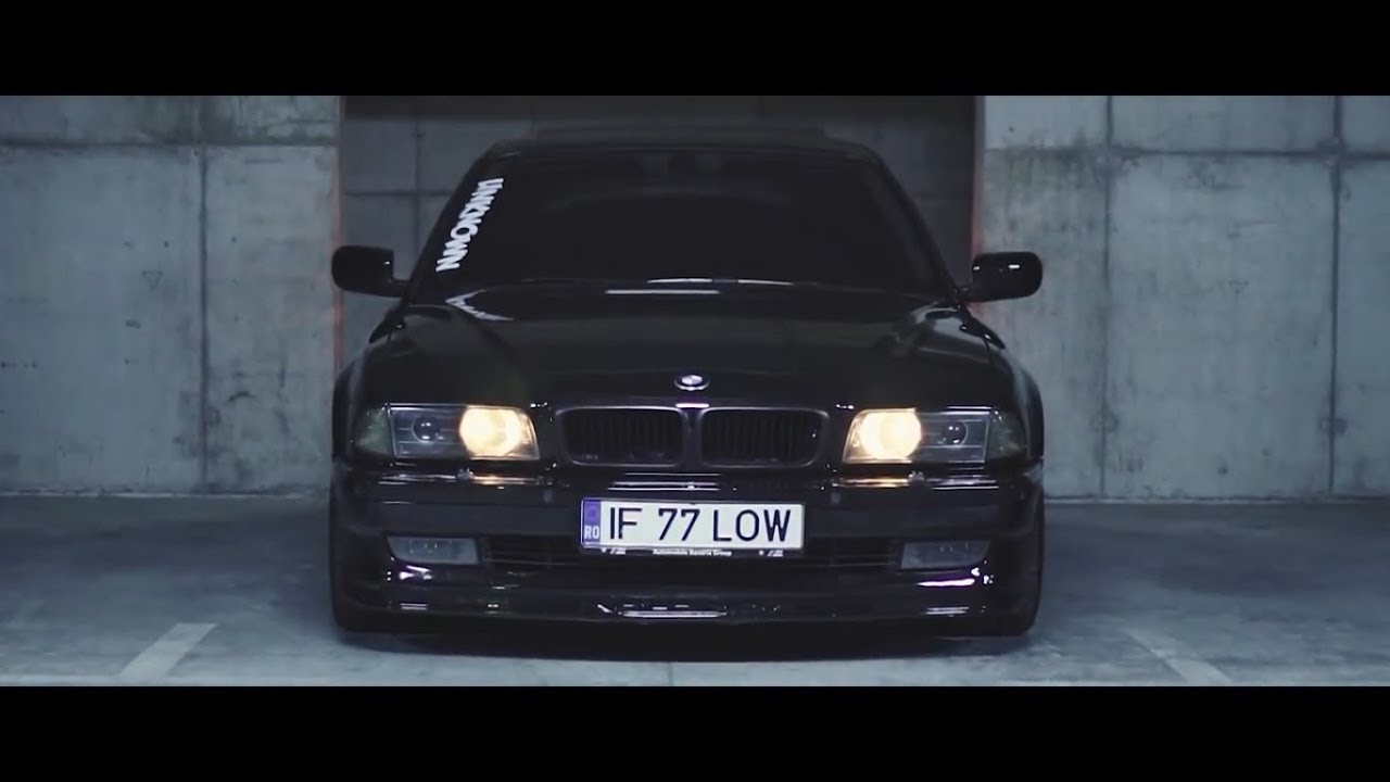 BMW 750M E38 BLACK GANGSTER COVER MAFIA CAR