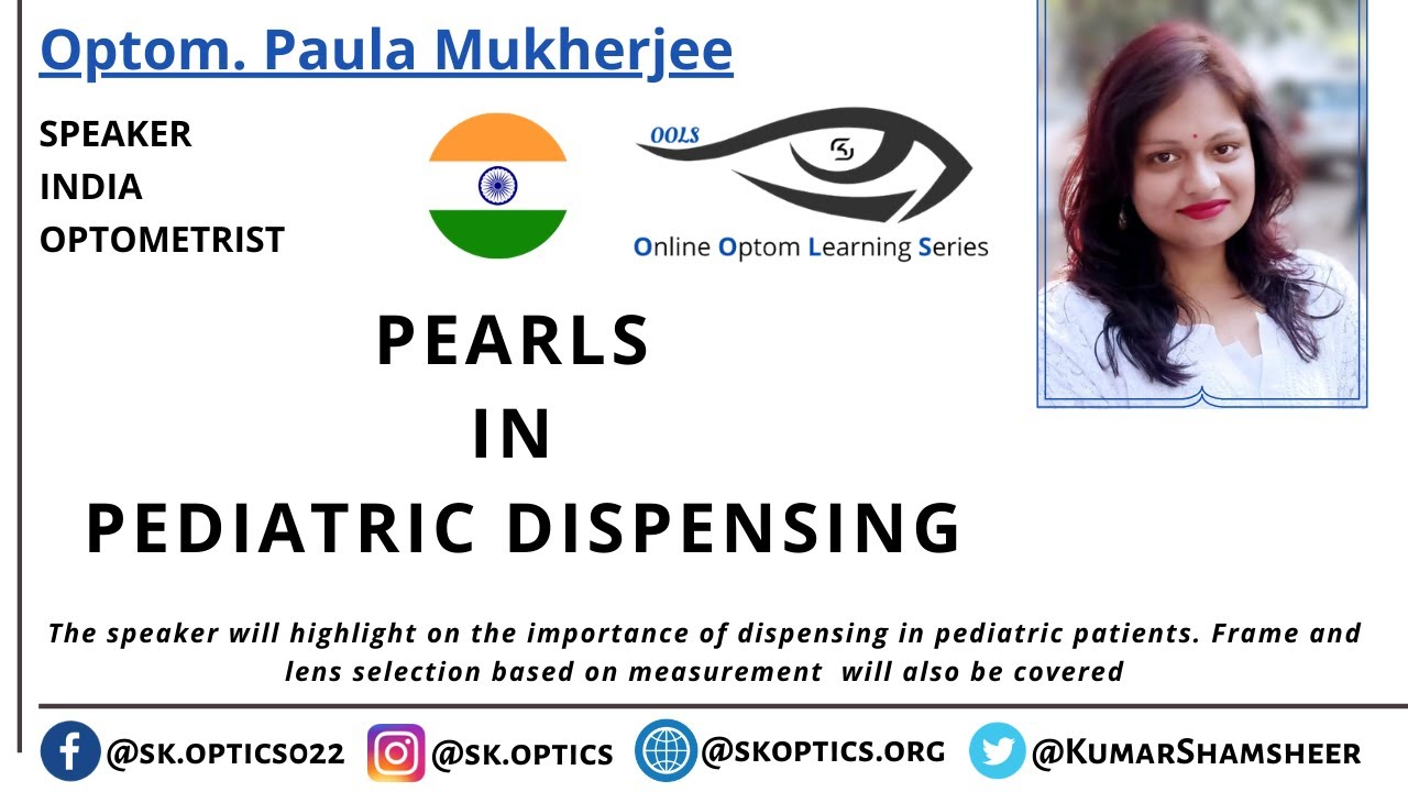 Pearls in Pediatric Dispensing | OOLS |
