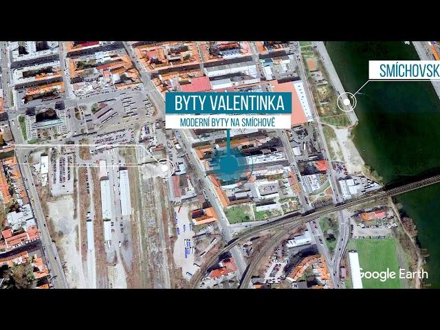 Prezentace developerského projektu Byty Valentinka