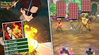 INFINITE IGNITES RULE = INFINITE DAMAGE REDUCTION?! KYO BAN TEAM!!!   7DS: Grand Cross