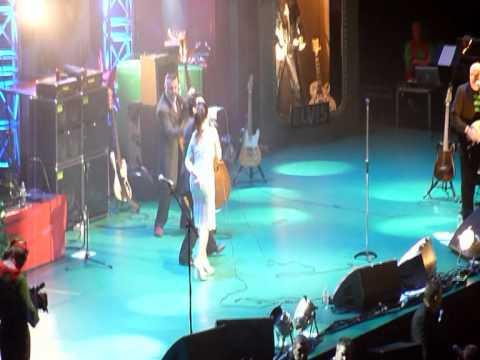 Bono on stage Imelda May Concert