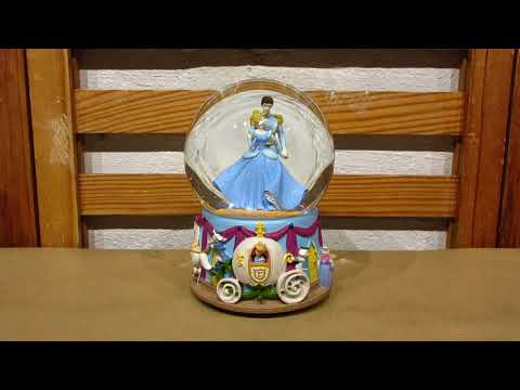 Disney Cinderella Musical Snow Globe by Enesco
