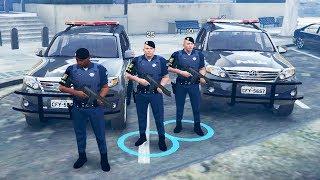 GTA 5 ROLEPLAY POLICIAL - ROTA BOTANDO TERROR NA FAVELA !