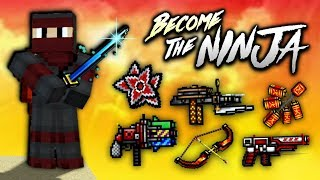 Pixel Gun 3D - Ninja Weapon Gameplay!