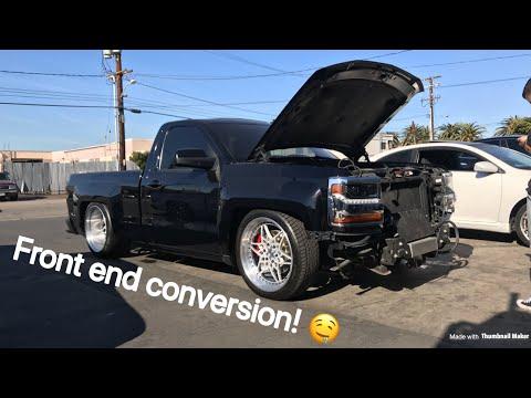 2014-2016 Silverado Front end conversion! Part 1 - YouTube