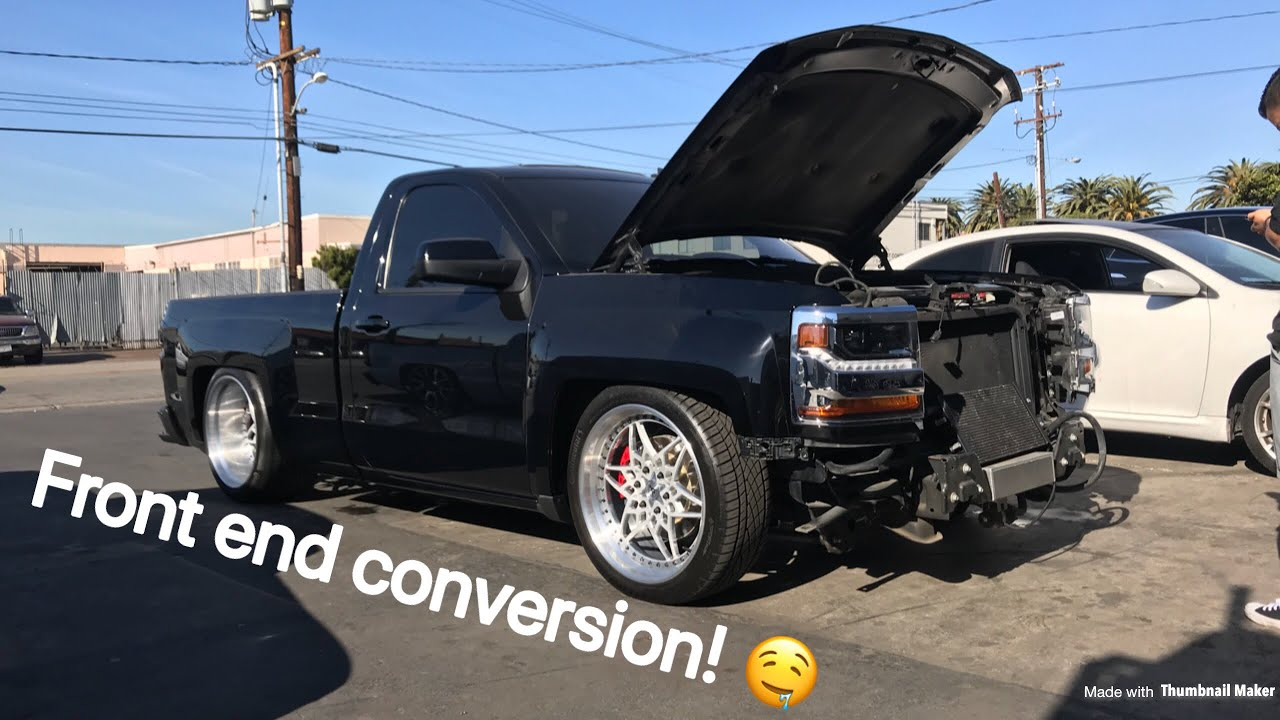 2014 2016 Silverado Front End Conversion Part 1 Youtube