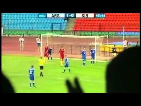 Арсенал - Сибирь (Первенство ФНЛ 2013/2014)