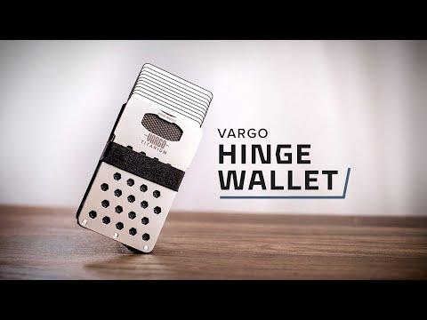 Vargo Hinge Wallet   The Minimalist Titanium Wallet