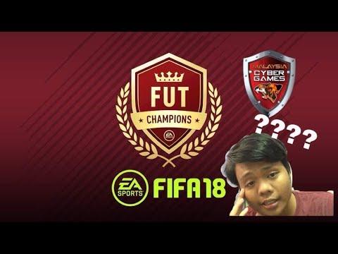 PENGALAMAN BERADA DI MALAYSIA CYBER GAME??  FIFA 18 ULTIMATE TEAM ROAD TO TOP 100 #1
