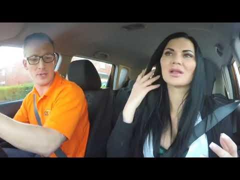 Fake Driving School - Female Driving Examiner