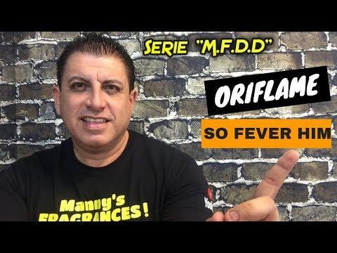 ORIFLAME SO FEVER HIM ( 2015 ) || Mi Fragancia del Día !! || 18 de Octubre 2018