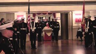 MARINE CORPS BIRTHDAY BALL 2011 FT LEE VA