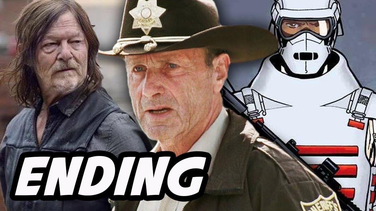 Walking Dead Comic Ende