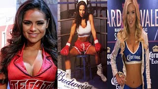 HOTTEST RING GIRLS IN BOXING 2017 AWARDS !!