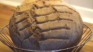 Dinkel-Vollkornbrot selber backen aus frisch gemahlenen Körnern