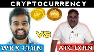 Atc coin vs Wazirx token , Cryptocurreny latest news , Bitcoin news