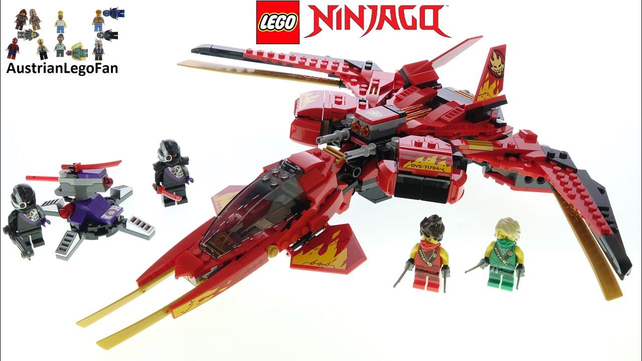Lego Ninjago 71704 Kai Fighter Lego Speed Build Review Youtube