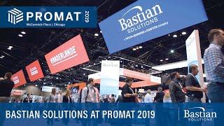 Bastian Solutions at ProMat 2019 Recap