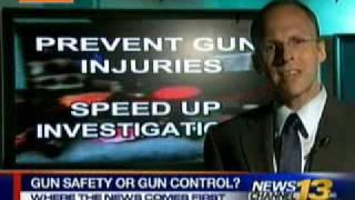 5-1-09: KRDO Blair Holt Gun Control Bill Interview