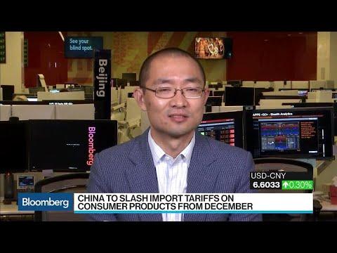 Keller, Yu on China Slashing Import Tariffs