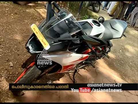Youth alleges Police put salt in petrol tank of bike in Thiruvananthapuram