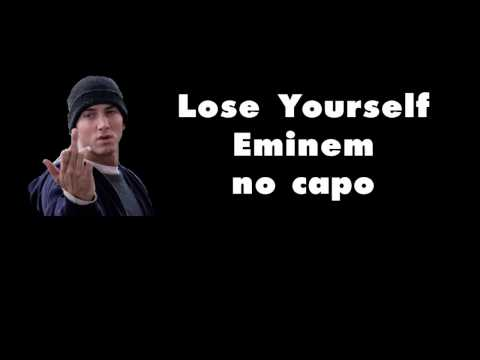 lose yourself eminem lyrics and chords