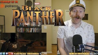 Black Panther - Teaser Trailer (Reaction & Review)