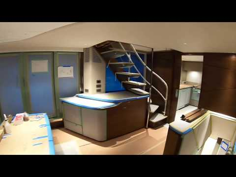$10,000,000 EXCLUSIVE IN BUILD SUPERYACHT TOUR : PRINCESS X95