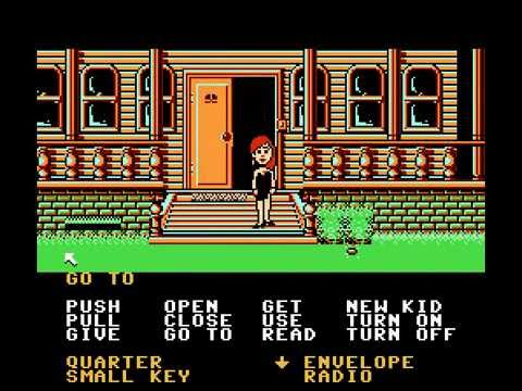 NES Longplay [252] Maniac Mansion