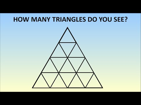How Many Triangles Are There? Learn The Formula For Any Size
