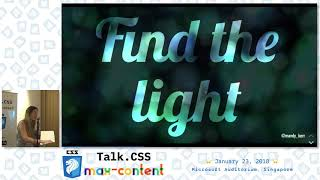 Creative Text Effects with CSS - Talk.CSS #24 max-content Edition - SingaporeCSS